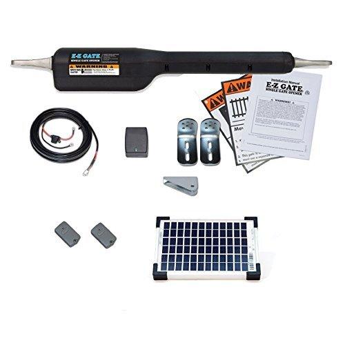 Mighty Mule EZGO-SOLAR Gate Opener Solar Kit by Mighty Mule