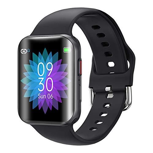 Gymqian T68 Smart Watch Cuerpo Temperatura Presión Arterial Monitor Ipx7 Relojes Inteligentes Impermeables 1.54In Smartwatch para Android Ios, B Moda/A