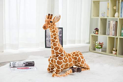 120 cm Simulación de Felpa Jirafa Juguetes Tamaño Grande Lindo Animal de Peluche Muñecas Jirafa Muñeca Regalo de cumpleaños Juguete para niños 80cm 1