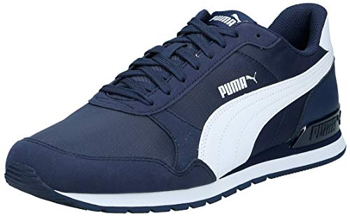 Puma St Runner V2 Nl, Zapatillas de Cross Unisex adulto, Azul (Peacoat-Puma White 8), 41 EU