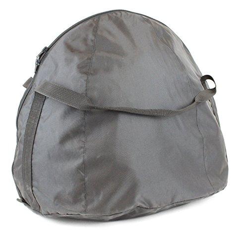 Nerve 15540104Bolsa para casco de moto, color negro