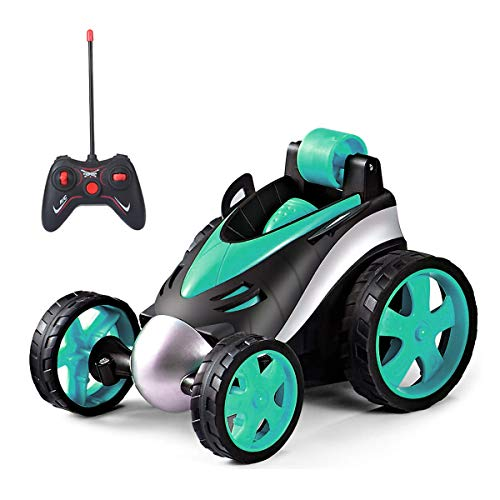 CAZON Remote Control Car, RC Car Toy 360 Degree Flip, Upright Driving,...