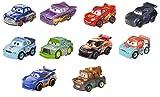 Disney Pixar Cars mini-véhicules, pack de 10 petites voitures miniatures, jouet pour...