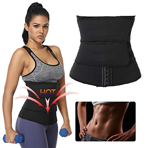 Why Should You Buy Body Shaper Waist Trainer for Women - Double Pressure Tighten Waist Shaper Fitnes...