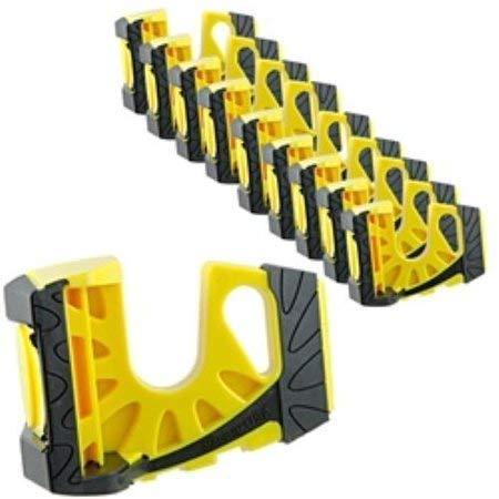 Preisvergleich Produktbild Wedge-It Ultimate Türstopper,  Hellgelb,  10 Stück