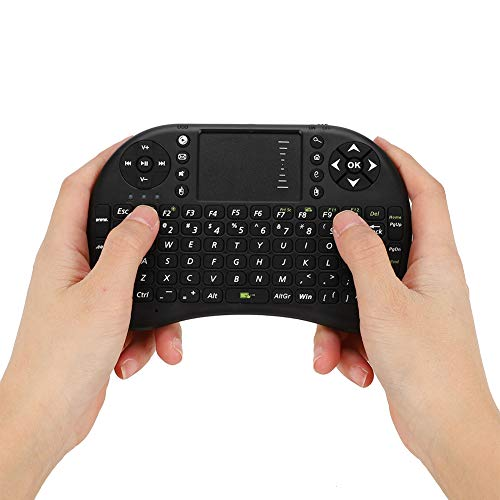 Simlug Air Mouse, Wireless Keyboard, Perfect Appearance QWERTY Keyboard Comfortable Complete Functions 2.4G for Desktop Notebook