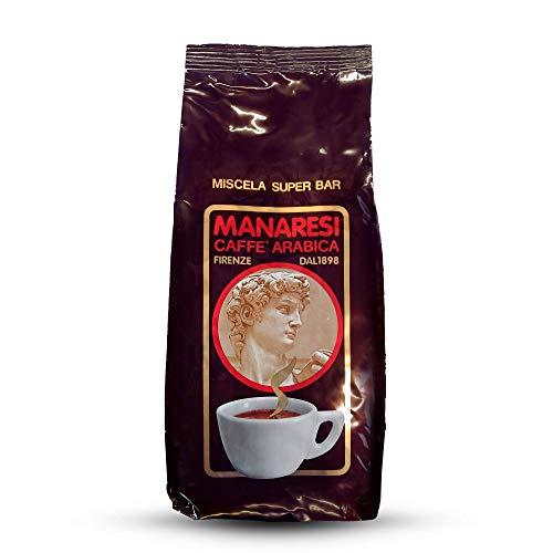 Manaresi Kaffee Super Bar Brown Bohnen, 1er Pack (1 x 1 kg)
