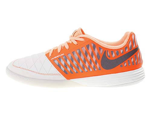 Nike Lunargato II, Zapatillas de Fútbol Hombre, Multicolor (Sail/Mahogany/Hyper Crimson/Orange Pulse 128), 44.5 EU