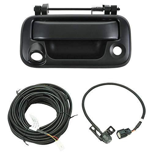 Rear View Camera Add On Kit w/Wiring Harness & Tailgate Handle for Ford Pickup backup Cameras Vehicle