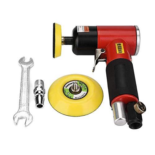 WY-YAN De mano Sander aire, herramienta de lijado neumático de aire Handheld Sander amoladora pulidora neumática Pulido de herramientas profesionales