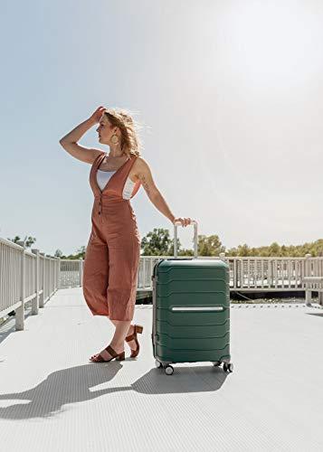 Samsonite Freeform Hardside Luggage, Sage Green, Checked-Large
