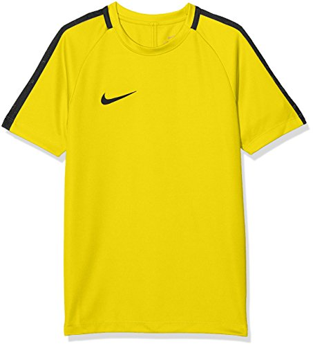 Nike Kinder Dry Academy 18 T-Shirt, gelb (Tour Yellow/Anthracite/Black), L