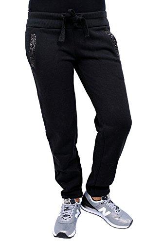 DEHA Pants Donna B42188. 10009 Nero, XS MainApps