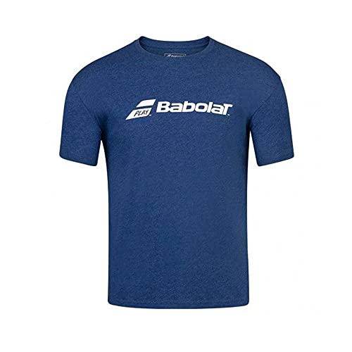 Babolat Exercise Tee Boy T-Shirt Unisexe pour Enfant M Multicolore (Estate Blue HTHR)