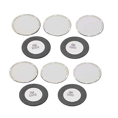 Chironal 2pcs 16mm Ultrasonic Mist Maker Fogger Ceramics Discs for Humidifier Parts