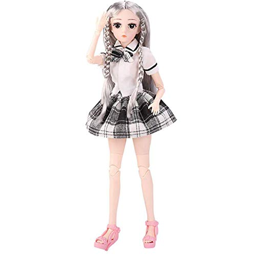 Buy Bargain Kingwo 45CM Fashion Ball Joints Doll, Soft Body 3D Doll Cuddle Gift Novel Attractive Toy...