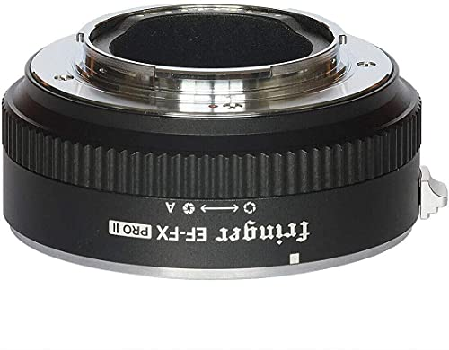 Fringer EF-FX PROII Auto Focus Mount Adapter Built-in Electronic Aperture for Canon EOS Tamron Sigma Lens to Fujifilm FX...