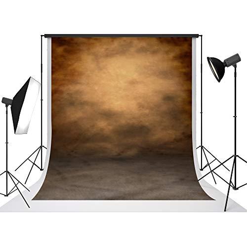 UrcTepics 5x7ft Durable Fabric Microfiber Polyester Brown Portrait Backdrop Professional Portrait Shoot Backgrounds Studio Props