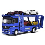 Modelo de automóvil Modelo de transporte Modelo de transporte Camión Tráiler Modelo de vehículo Modelo de vehículo Modelo de automóvil Modelo de juguete Adornos de juguete Regalo Compatible con Merced