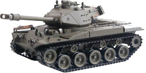 ES-TOYS RC Panzer M41 A3 Walker Bulldog Heng Long -Rauch&Sound+Stahlgetriebe und 2,4Ghz -V 6.0