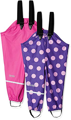 CareTec 550276 Pantalon De Pluie, Multicolore (Real Pink 5460), 80