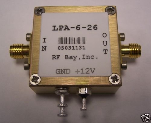 Credence 100-6000MHz Wideband RF Amplifier LPA-6-26 SMA Many popular brands New