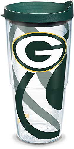 Tervis Copo NFL Green Bay Packers com tampa, 680 g, transparente