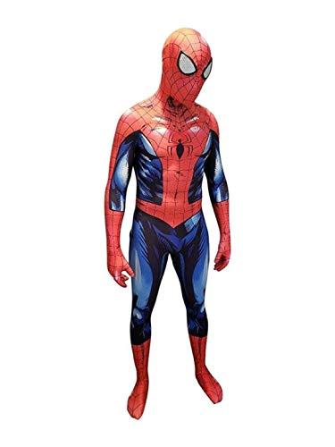 Cosplay Kostüm Spider-Man Mark Bagleys Comics Body Superheld Mit Maske (XS)
