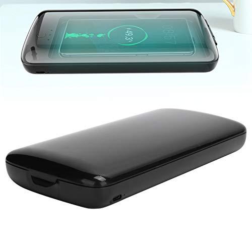 Desinfectante UV para teléfonos móviles con carga inalámbrica, Esterilizador portátil para teléfonos...