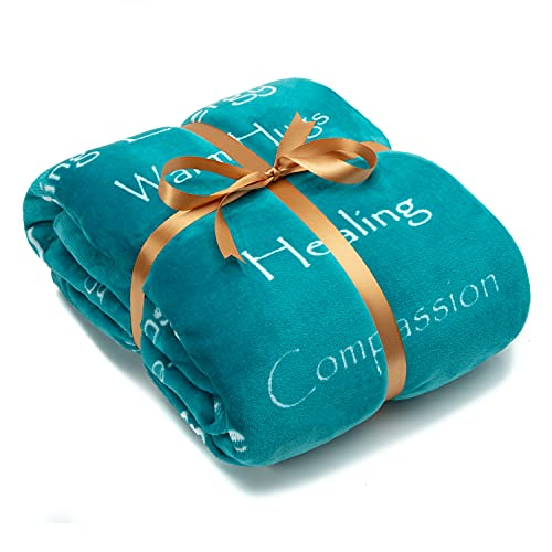 Chanasya Healing Compassion Warm Hugs Gift Throw Blanket - Sympathy...