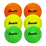 Franklin Sports Youth Lacrosse Balls - Soft Rubber Lacrosse Balls for Kids - Perfect for Beginners - Indoor and Outdoor...