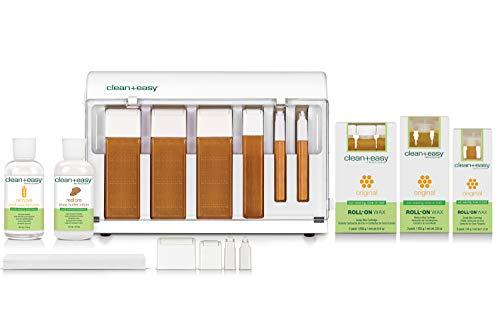 Clean + Easy Waxing Spa Basic Kit (120V)