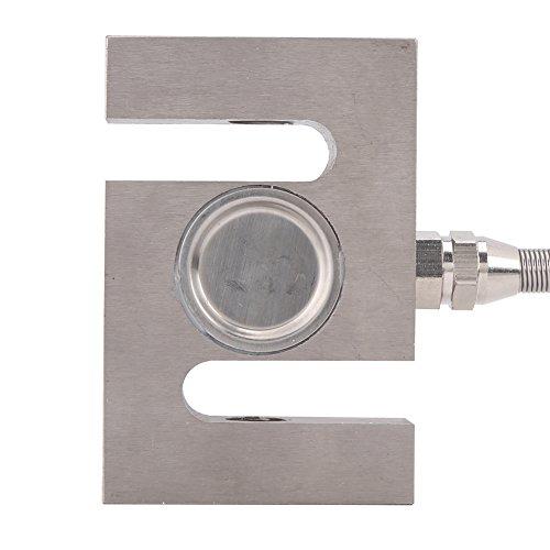 Weighting Sensor, Asixx S Type High Precision Load Cell Scale Sensor Weighting Sensor with Cable(300kg)