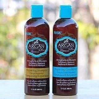 HASK Argan Oil Repairing Shampoo & Conditioner 12 FL OZ