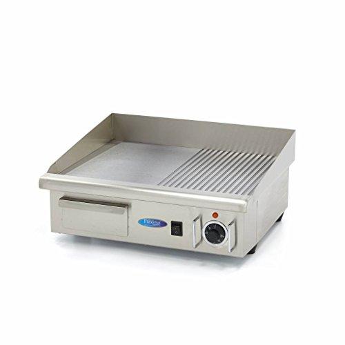 Elektrische Horeca Grillplaat/Bakplaat MGRILL 1/2 GR