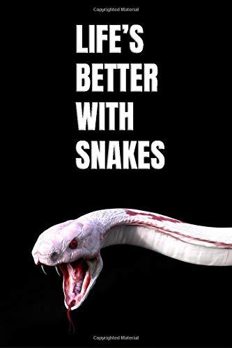 Snake Journal: Viper Reptile Notebook for Snake Lover's