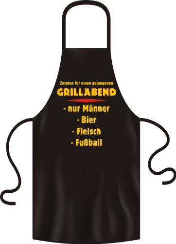 Grillschürze Original Rahmenlos ® Grillabend nur Männer