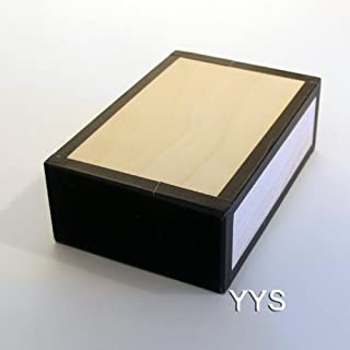 Henrys Juggling Cigar Box - Natural with Black Tape