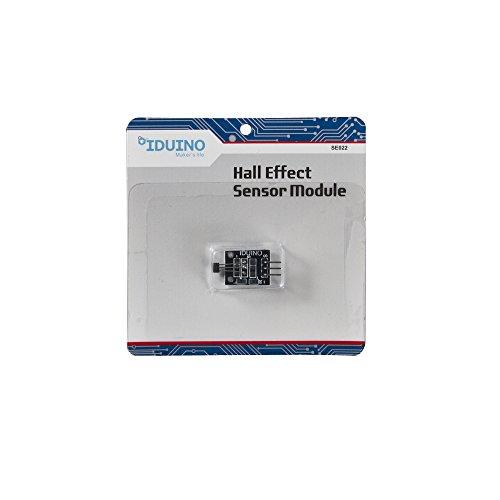 IDUINO 2 Pcs Arduino Compatible Hall Effect Magnetic Sensor DC 5V