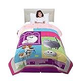 Franco Kids Bedding Comforter, Twin Size 64' x 86', Secret Life of Pets 2
