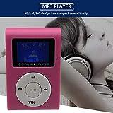 Ba30DEllylelly Lecteur MP3 de Petite Taille Mini écran LCD Lecteur MP3 Lecteur de Musique Support Carte TF 32 Go Meilleur Cadeau