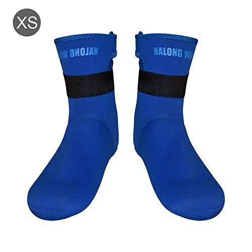 Professionelle Schnorchel-Socken Anti-Kratz-Anti-Rutsch-Tauch-Socken Kältebeständige Schwimmen-Socken für Winterschwimmer Taucher