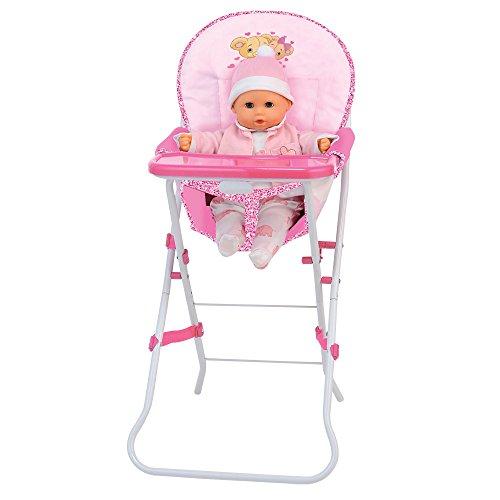 Rocco Toys - Puppenhochstuhl für Puppe, bd536-217