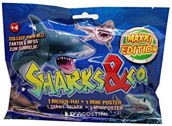 Sharks & Co.–Maxxi Edition, Figure da collezione, 1 pezzo