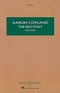 The Red Pony: Study Score