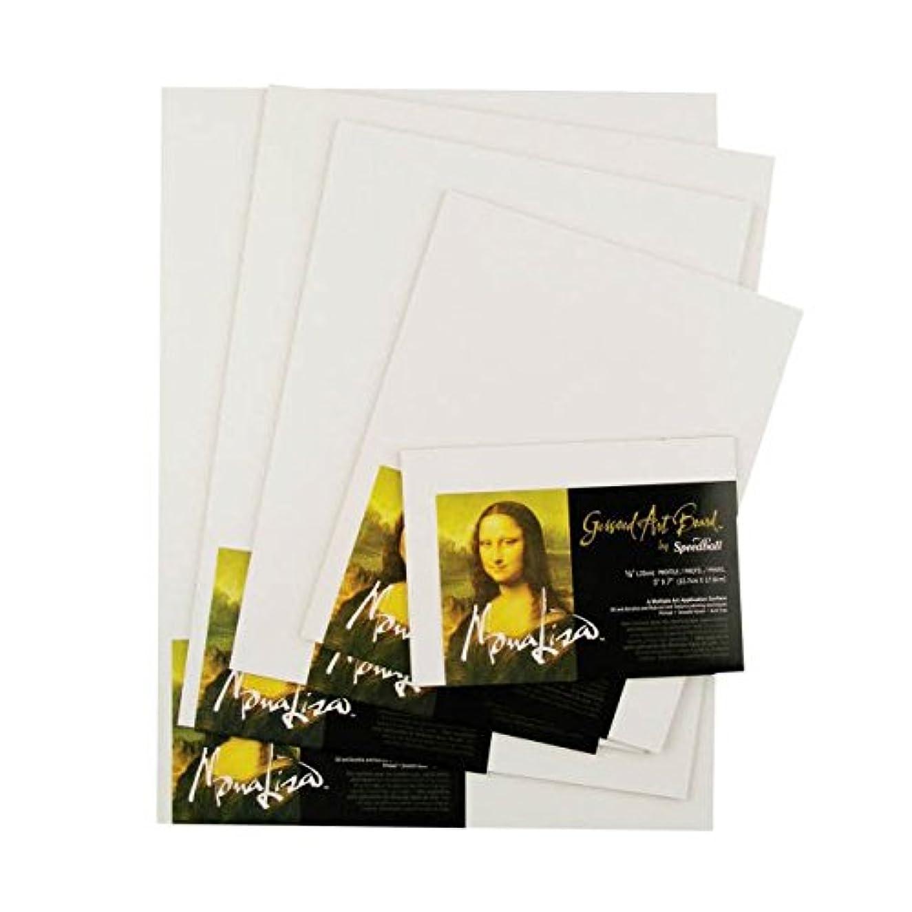 Speedball 854-1027 10309 Mona Lisa 14-Inch-by-18-Inch Gessoed Art Board