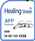 Healing shield Protectores de Pantalla Oleophobic AFP Clear Film for Casio Watch DB-360-1ADF [Front 2pcs]