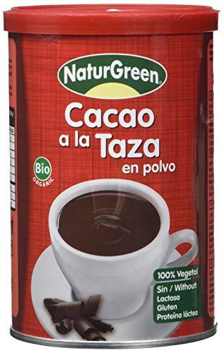 NaturGreen Preparado vegetal con cacao ecológico - 250 gr.