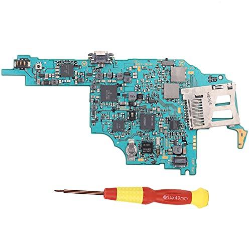 FOLOSAFENAR Placa Base de reparación de Consola Liviana Durable CO Piezas Nuevas de Repuesto portátil anticorrosión, para reemplazo de la Placa Principal de So-NY PSP 2000, con Destornillador