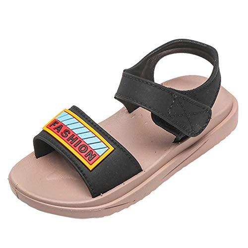 YWLINK Zapatos De Playa con Velcro De Suela Blanda para NiñO,Sandalias Baotou para Bebé, Zapatos De Bebé,Sandalias con Punta Abierta NiñOs,Calzado De Playa Transpirable,Sandalias Deportivas